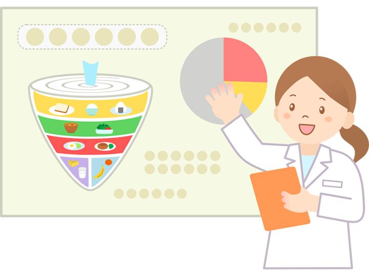日本栄養士会医療事業部からのお知らせ!【8月は栄養管理推進月間です】